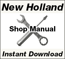 New Holland Shop Manual PDF