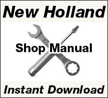 New Holland Repair Manual Download