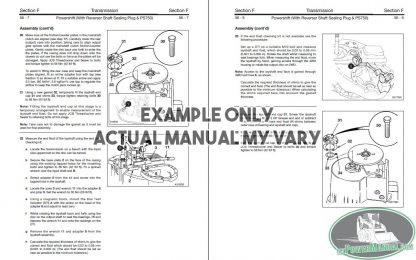 Repair Manual Sample