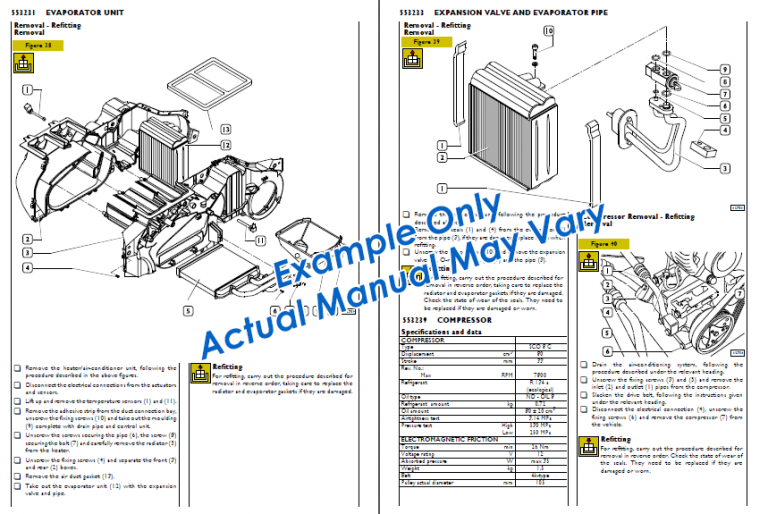 Example Service Manual