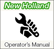 New Holland Operator's Manual