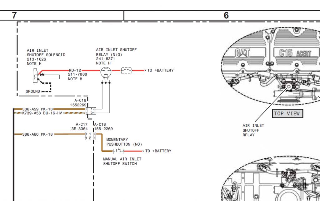 caterpillar c15 sdp truck engine complete service manual